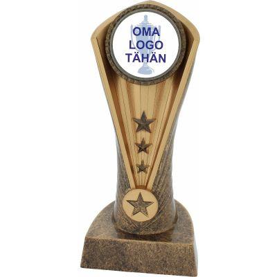 Palkinto Cobra omalla logolla