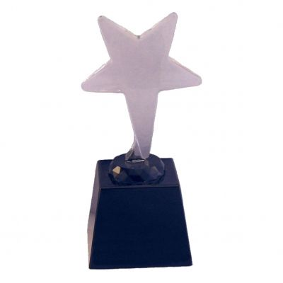 Lasipatsas tähti (15cm)